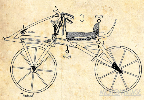 История велосипеда, 200-летию изобретения Карла фон Драйза посвящается