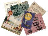 Зібрання каталогів вінтажних велосипедів та приладдя.