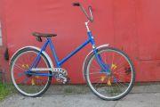 Собираю велосипед.