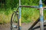 Велосипед и краска. Выбор цветов и придание их велосипеду.